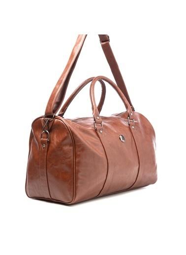 TH Bags TH Bags 2THCM2020015 Suni Deri Tek Bölmeli Valiz Taba